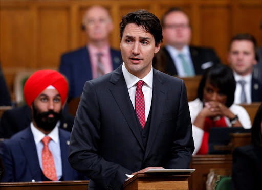 Canadian Prime Minister Justin Trudeau. Picture: REUTERS