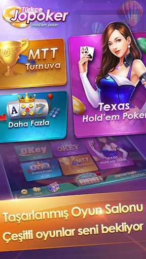 Türkçe Texas Jopoker - screenshot