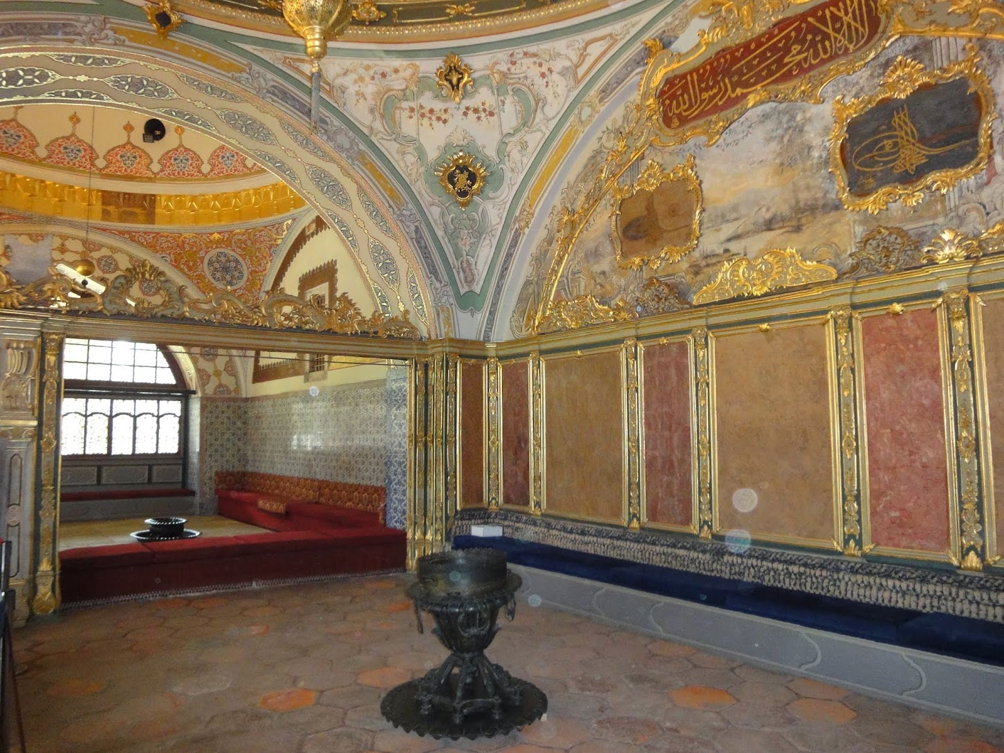 Le Harem au Palais Topkapi
