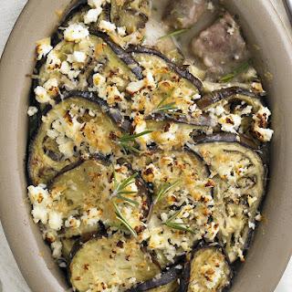 Lamb, Feta and Eggplant Casserole