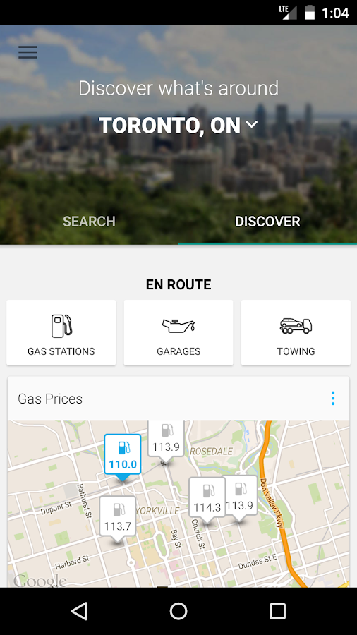 YP Yellow Pages Canada- screenshot