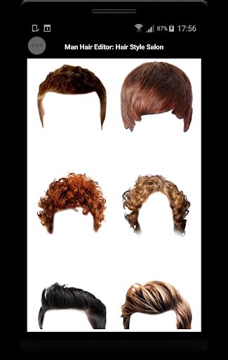 Man Hair Editor : Hair Style Photo Maker  screenshots 5