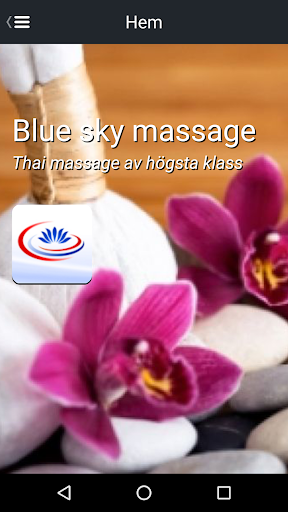 Blue sky massage