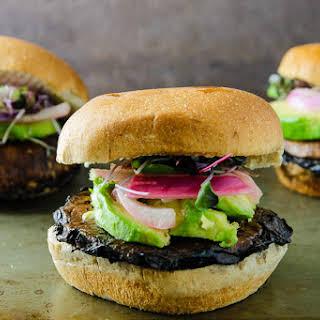 Teriyaki Portabella Mushroom Burgers.