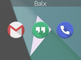 Screenshot of Balx - Icon Pack
