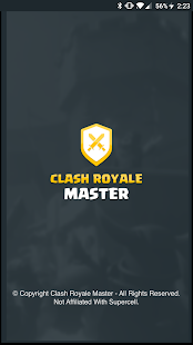 Master For Clash Royale