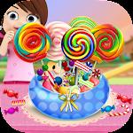 DIY Rainbow Candy Sweets Shop Icon