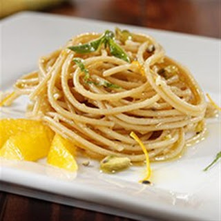 Nina's Best Citrus Pesto Spaghetti