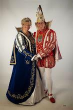 Photo: Funken Blau Weiss Siegburg, Siegburg, Prinzenpaar Peter VI und Siegburgia Anne I