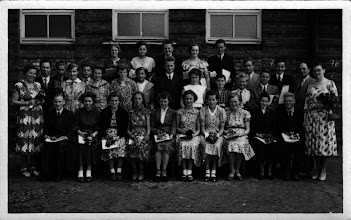 Photo: Klasse 8(?) Abschlussfoto 1955