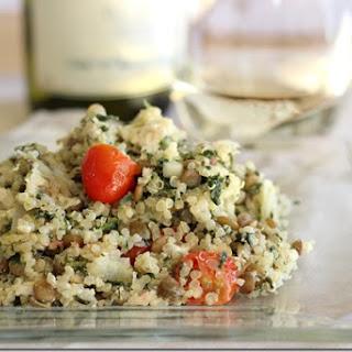 Mediterranean Quinoa Casserole.