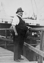 Photo: My grandfather Osmund when he was leader foreman of the Hoboken Shipyard