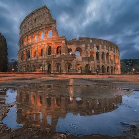Colosseum by Marius Igas - Buildings & Architecture Public & Historical ( rome, colosseum, amazing, italy, architecture )