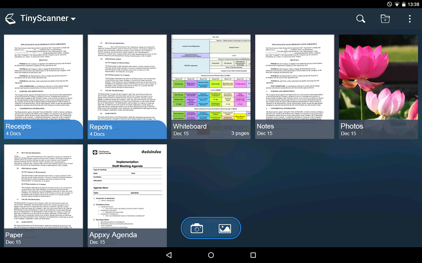 tiny scanner pdf scanner app android apps on google play