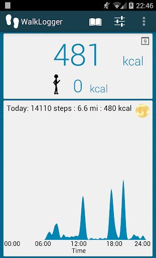 WalkLogger pedometer screenshot 3