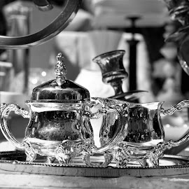 Illustration by J & M - Black & White Objects & Still Life ( image, view, illustration, photography, life )