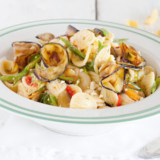 Orecchiette Pasta Salad With Flat Beans And Spring Onions