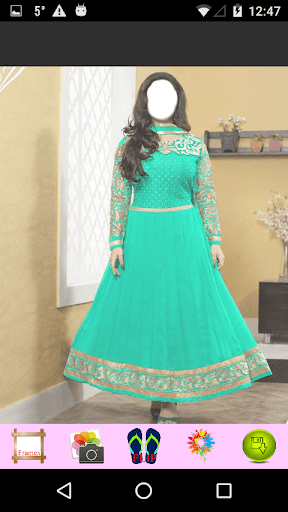 Anarkali Frock Photo Editor 1.6 screenshots 9