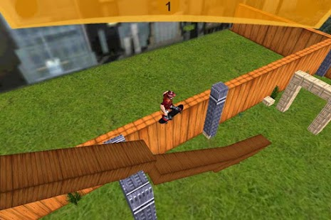 3D Skateboard Skater Free- screenshot thumbnail