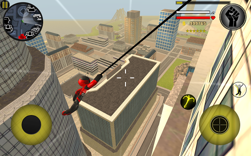 Stickman Rope Hero 2.6 screenshots 9