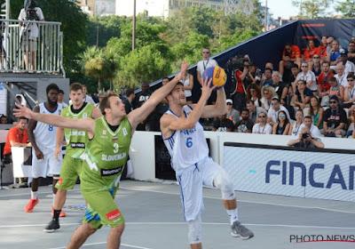 WK 3x3-basketbal zal volgend jaar plaatsvinden in Antwerpen