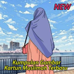 108+ Gambar Kartun Muslimah Yang Terbaru Terbaik