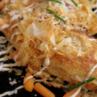 Crab Omelette with Cream of Truffle Recipe