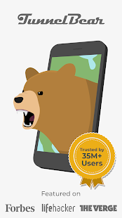 TunnelBear VPN Screenshot