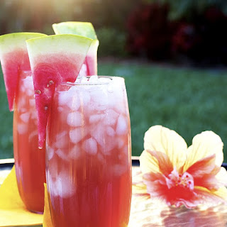 Iced Watermelon Green Tea
