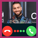Maluma Video Call Fake Prank icon