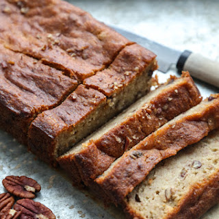 Maple-Pecan Gluten-Free Banana Bread.