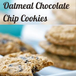 Crispy Oatmeal Chocolate Chip Cookies