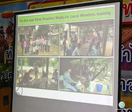Photo: Presentation session by Dr. Phassakorn Nuntapanich (UBRU)