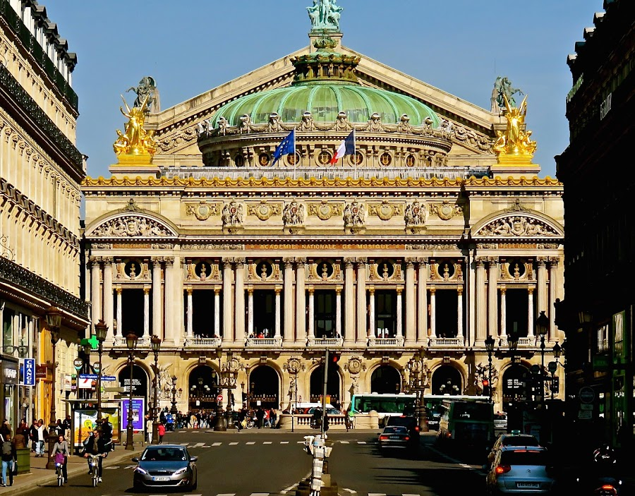 PARIS OPERA by Doug Hilson - Buildings & Architecture Public & Historical ( paris, building, paris opera, france )