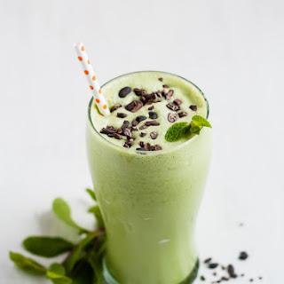 Recipe Makeover - Healthy Copycat Shamrock Shake.