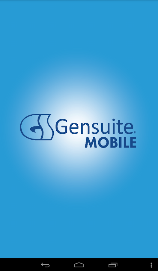 Gensuite Mobile- screenshot