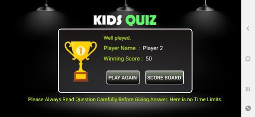 Kids Quiz GK  screenshots 4
