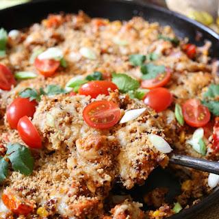 Barbecue Chicken Quinoa Bake