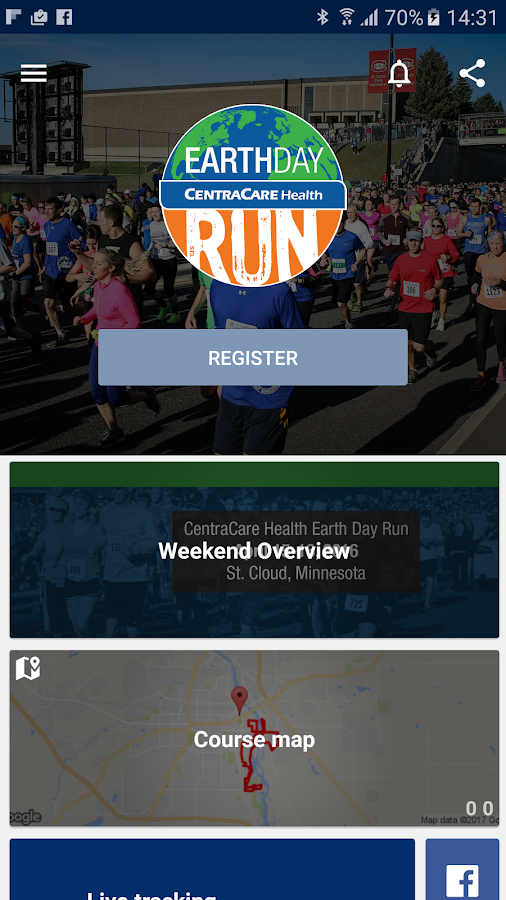 Earth Day Run- screenshot