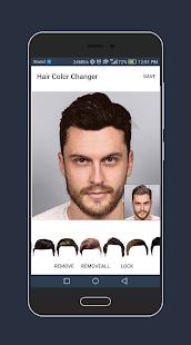 Hair Changer Photo Editor Pro for Men 2018 - náhled
