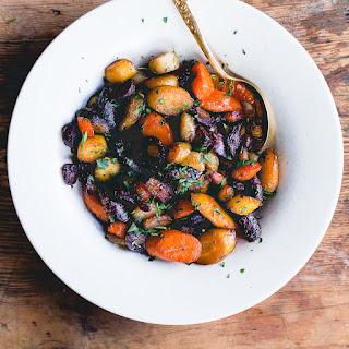 Honey Garlic Caramelized Carrots