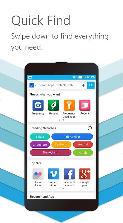 ZenUI Launcher-Theme,Wallpaper- screenshot
