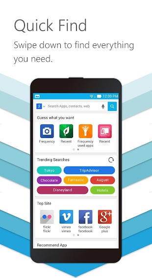 ZenUI Launcher – Fast & Smart- screenshot thumbnail