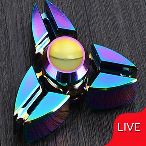 Fidget Spinner Live Wallpaper