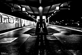 Photo: the last subway ...