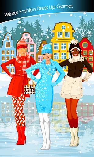 冬季時尚裝扮遊戲