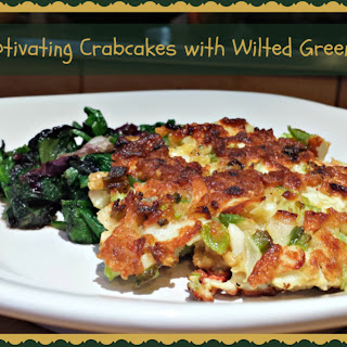 Captivating Crabcakes with Wilted Greens