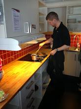 Photo: Cooking köttbullar