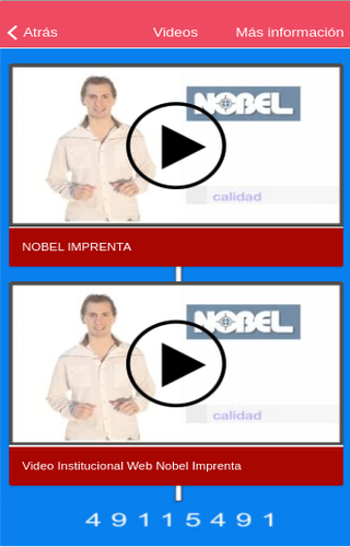 NOBELIMPRENTA- screenshot