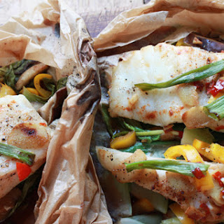 Chilean Sea Bass in Parchment.